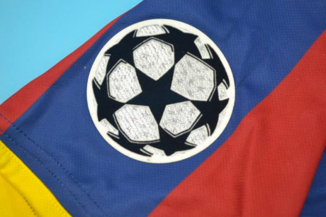 Shirt Champions League Patch, Barcelona 2010-2011 Champions League Final