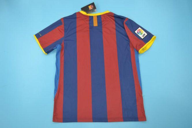 Shirt Back Blank, Barcelona 2011-2012 Home Short-Sleeve