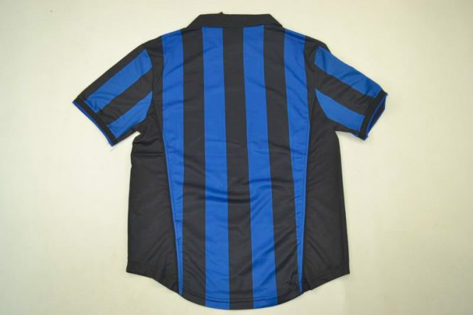 Shirt Back Blank, Inter Milan 1998-1999 Home Short-Sleeve