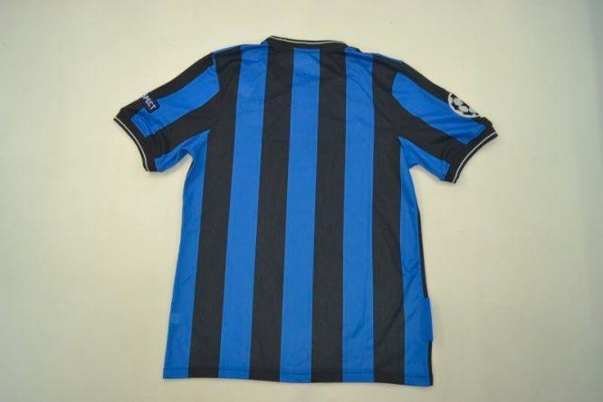 Shirt Back Blank, Inter Milan 2010 Champions League Final Short-Sleeve