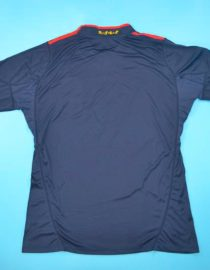 Shirt Back Blank, Spain 2010 World Cup Final Away