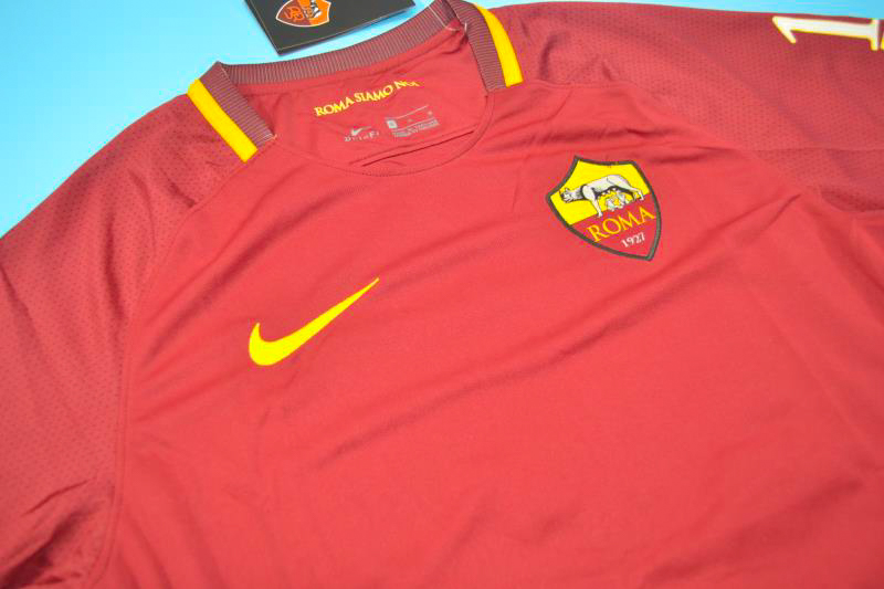 901f4f103 AS Roma 2016-2017 Francesco Totti s Last Match Short Sleeve Retro Jersey