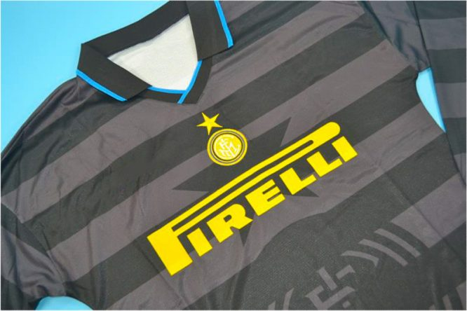 Shirt Front Alternate, Inter Milan 1997-1998 Third Long-Sleeve