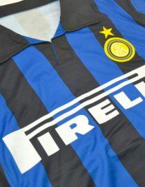 Shirt Front Alternate, Inter Milan 1998-1999 Home Short-Sleeve