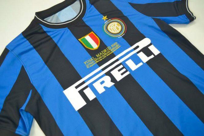 Shirt Front Alternate, Inter Milan 2010 Champions League Final Short-Sleeve