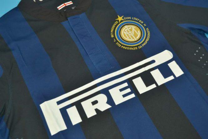 Shirt Front Alternate, Inter Milan 2013-2014 Zanetti Retirement
