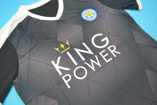 Shirt Front Alternate, Leicester City 2015-2016 Away