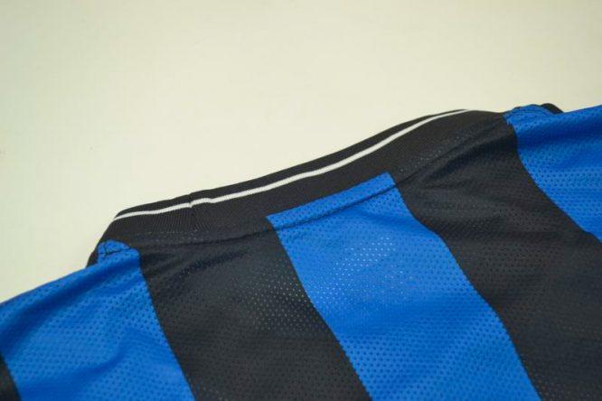 Shirt Collar Back, Inter Milan 2010 Champions League Final Short-Sleeve