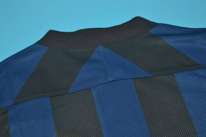 Shirt Collar Back, Inter Milan 2013-2014 Zanetti Retirement