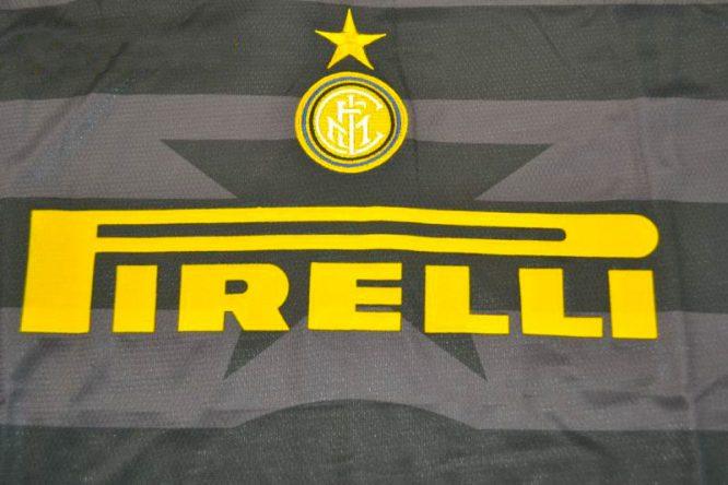 Shirt Front Closeup, Inter Milan 1997-1998 Third Long-Sleeve