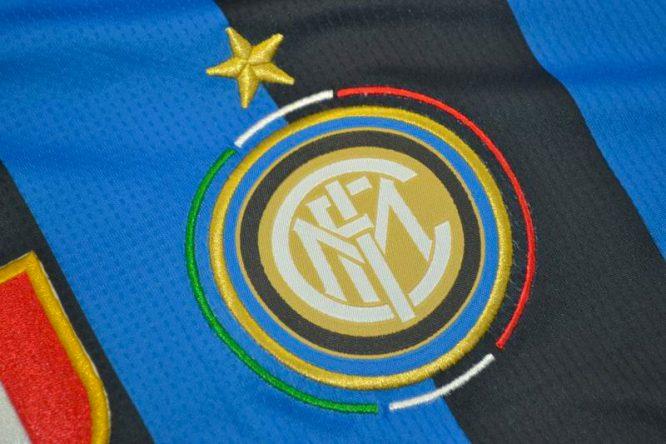 Shirt Inter Milan Emblem, Inter Milan 2010 Champions League Final Short-Sleeve