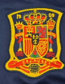 Shirt Spain Emblem, Spain 2010 World Cup Final Away