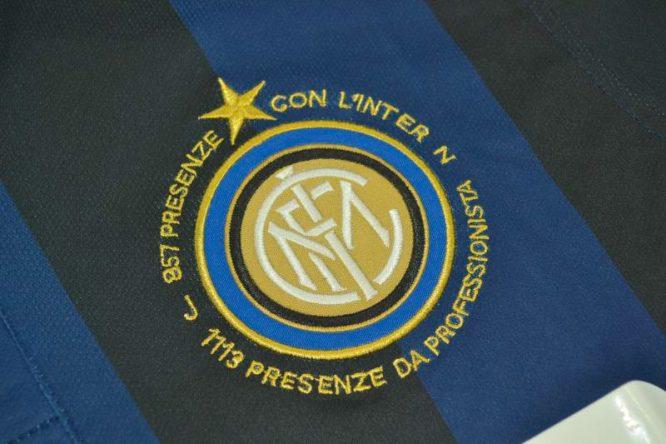 Shirt Inter Milan Emblem, Inter Milan 2013-2014 Zanetti Retirement