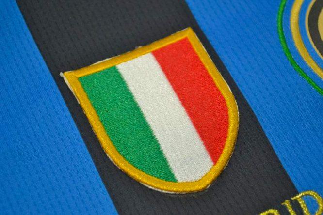 Shirt Italy Emblem, Inter Milan 2010 Champions League Final Short-Sleeve