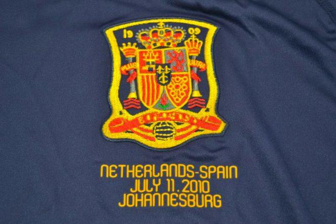 Shirt World Cup Final Writing, Spain 2010 World Cup Final Away