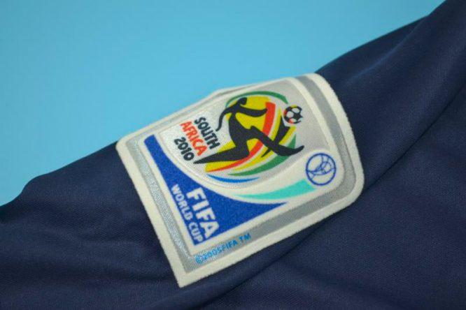Shirt 2010 World Cup Emblem, Spain 2010 World Cup Final Away