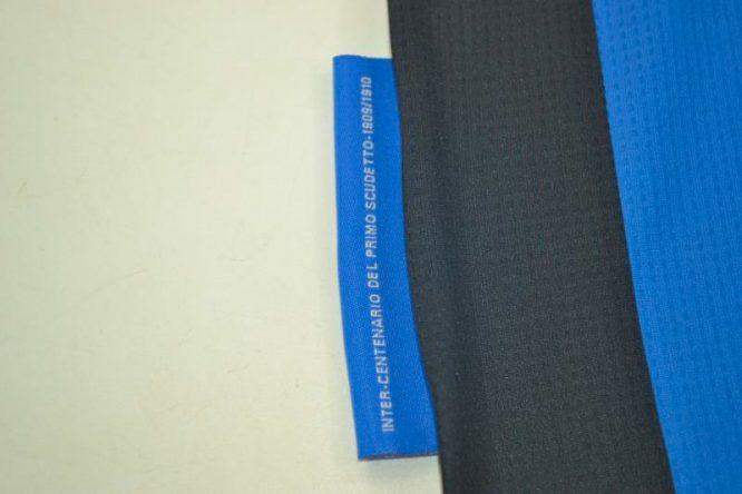 Shirt Details Closeup, Inter Milan 2010 Champions League Final Short-Sleeve