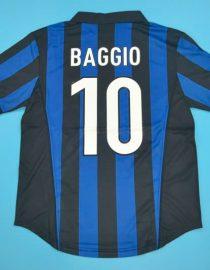 Baggio Nameset, Inter Milan 1998-1999 Home Short-Sleeve
