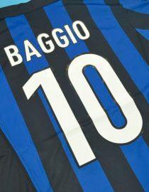 Baggio Nameset Alternate, Inter Milan 1998-1999 Home Short-Sleeve