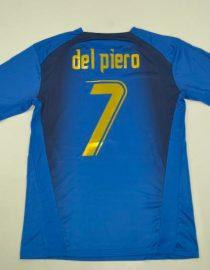 Del Piero Nameset, Italy 2006 Home Short-Sleeve
