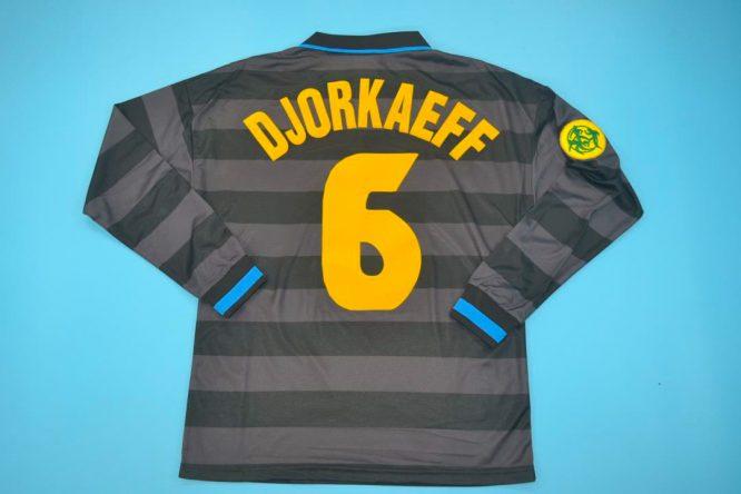 Djorkaeff Nameset, Inter Milan 1997-1998 Third Long-Sleeve