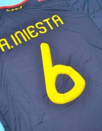 Iniesta Back Alternate, Spain 2010 World Cup Final Away