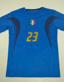 Materazzi Front Nameset, Italy 2006 Home Short-Sleeve