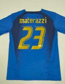 Materazzi Nameset, Italy 2006 Home Short-Sleeve