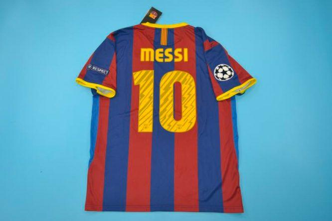 Messi Nameset, Barcelona 2010-2011 Champions League Final