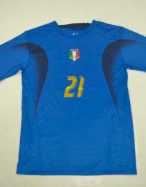 Pirlo Front Nameset, Italy 2006 Home Short-Sleeve