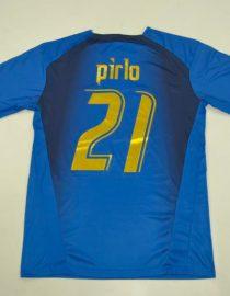 Pirlo Nameset, Italy 2006 Home Short-Sleeve