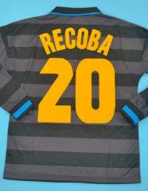 Recoba Nameset, Inter Milan 1997-1998 Third Long-Sleeve