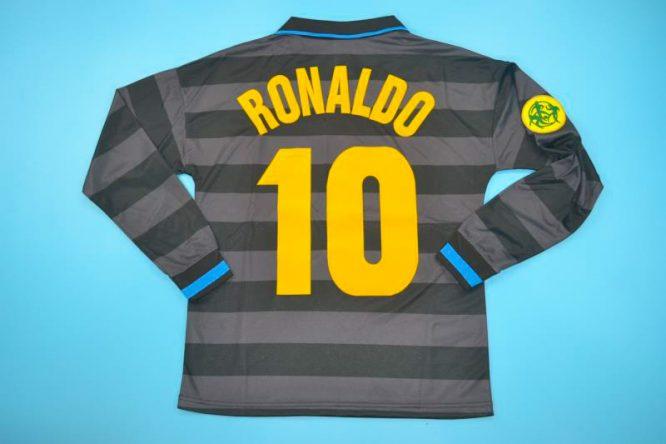 Ronaldo Nameset, Inter Milan 1997-1998 Third Long-Sleeve