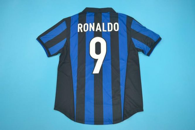 Ronaldo Nameset, Inter Milan 1998-1999 Home Short-Sleeve