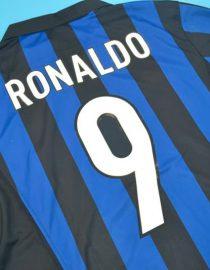 Ronaldo Nameset Alternate, Inter Milan 1998-1999 Home Short-Sleeve