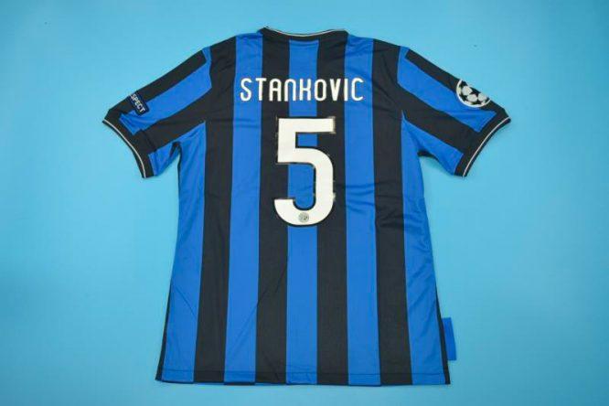 Stankovic Nameset, Inter Milan 2010 Champions League Final Short-Sleeve