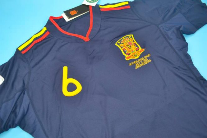 iniesta Front, Spain 2010 World Cup Final Away