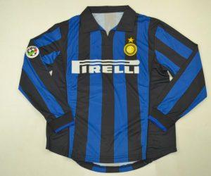 Shirt Front, Inter Milan 1998-1999 Home Long-Sleeve
