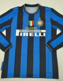 Shirt Front, Inter Milan 2009-2010 Champions League Final Long-Sleeve