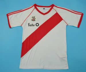 Shirt Front, River Plate 1986 Home Short-Sleeve