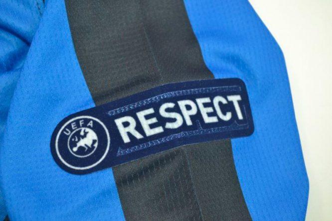 Shirt Respect Patch, Inter Milan 2009-2010 Champions League Final Long-Sleeve
