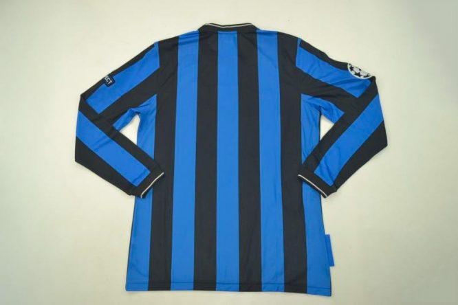 Shirt Back Blank, Inter Milan 2009-2010 Champions League Final Long-Sleeve
