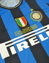 Shirt Front Alternate, Inter Milan 2009-2010 Champions League Final Long-Sleeve