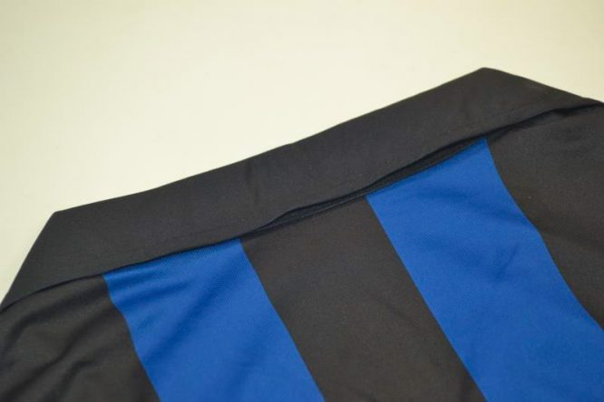 Shirt Collar Back, Inter Milan 1998-1999 Home Long-Sleeve