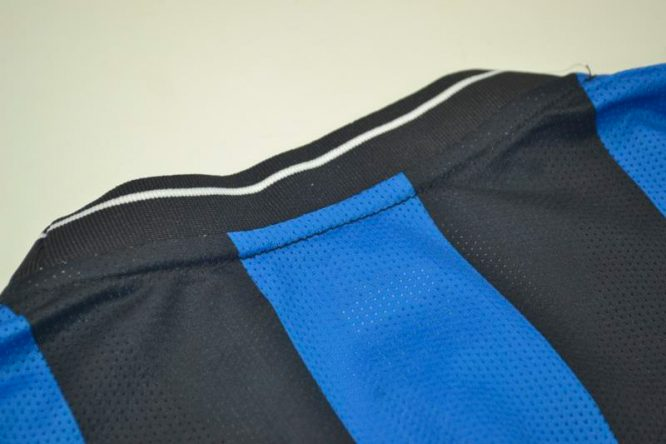 Shirt Collar Back, Inter Milan 2009-2010 Champions League Final Long-Sleeve