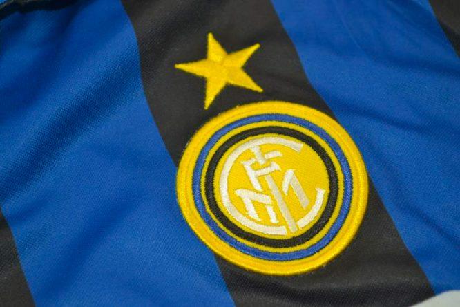Shirt Inter Milan Emblem, Inter Milan 1998-1999 Home Long-Sleeve