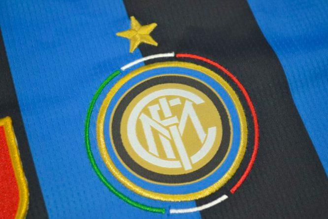 Shirt Inter Milan Emblem, Inter Milan 2009-2010 Champions League Final Long-Sleeve