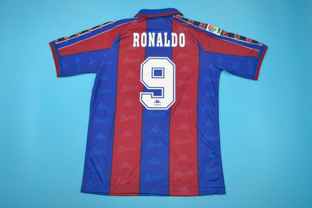 sale retailer f2c68 7920c FC Barcelona 1996-1997 Short-Sleeve
