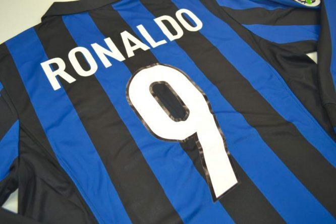 Ronaldo Nameset, Inter Milan 1998-1999 Home Long-Sleeve