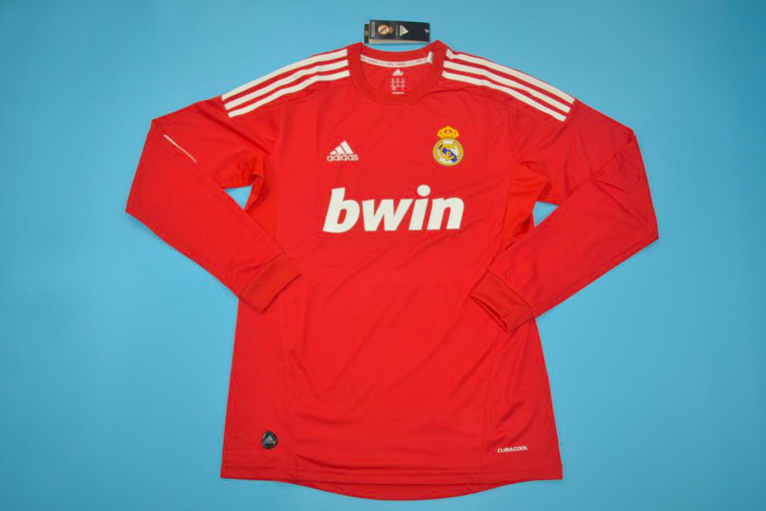 the best attitude c7230 cca3b Real Madrid 2011-2012 Third Long-Sleeve